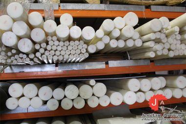 HDPE 500 high density polyethylene round bar