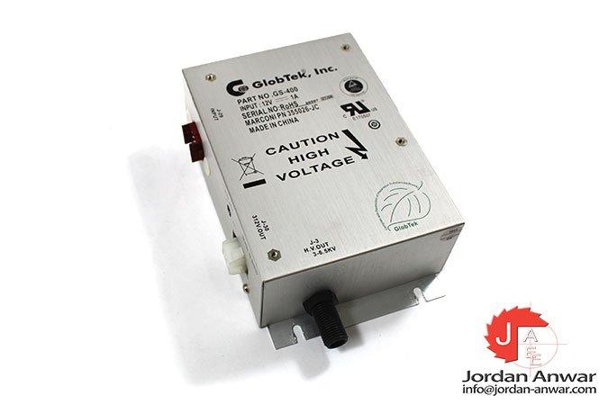 Globtek-GS-400-power-supply