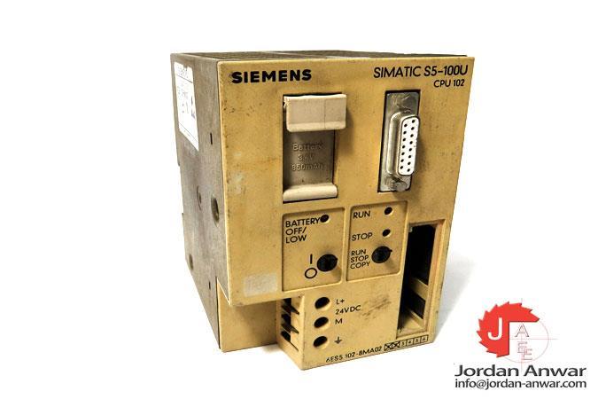 USED S5 6ES5102-8MA02 Siemens