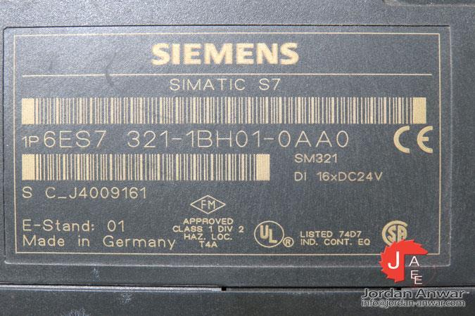 Siemens Simatic digital s7 en 6es7 321-1bh01-0aa0,6es7321-1bh01-0aa0