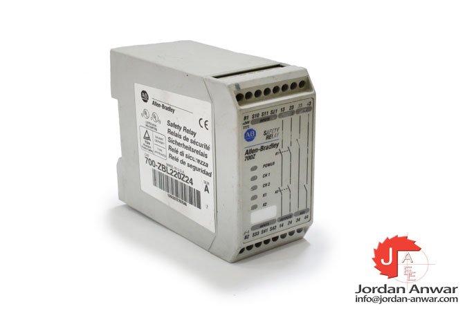 allen-bradley-700-ZBL220Z24-safety-relay