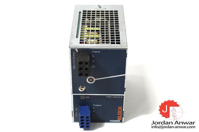 block-trafo -PSR-230_24-5-power-supply