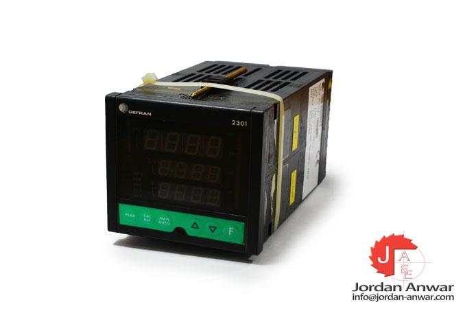 gefran-2301-SI-1-2R-1- fast-single-loop-controller