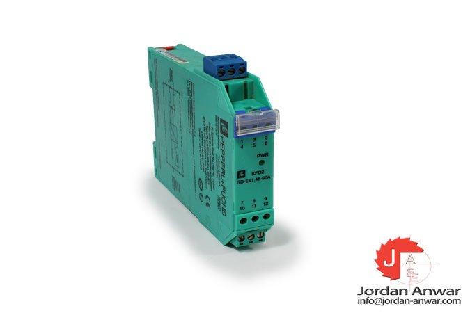 pepperl+fuchs-KFD2-SD-EX1.48-90A-solenoid-driver