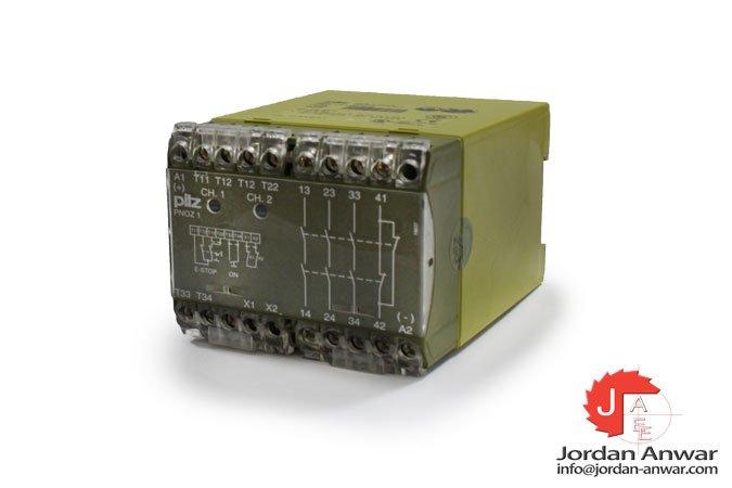 pilz-PNOZ-1-24-V-DC-3S1O-emergency-stop-relay