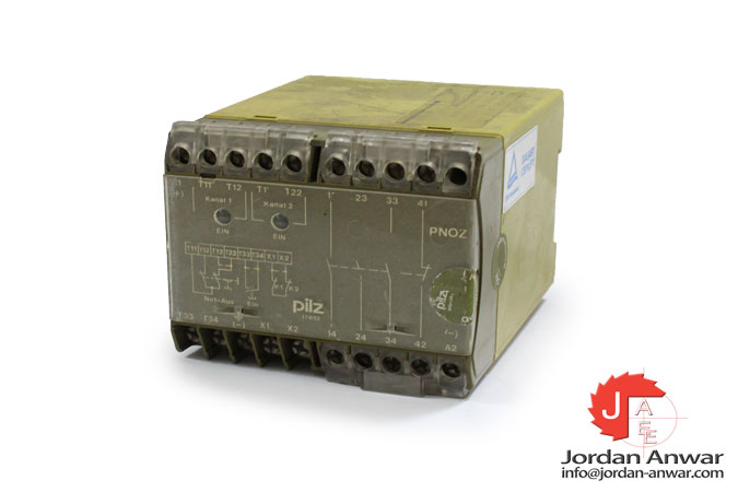 pilz-PNOZ-110VAC-3S-1O-safety-relay