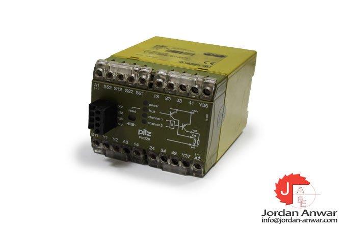 pilz-PNOZ-8-24-V-DC-emergency-stop-relay