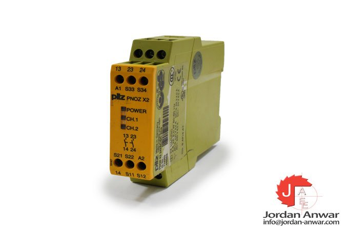 pilz-PNOZ-X2-24VAC_DC-2N_O-safety-relay