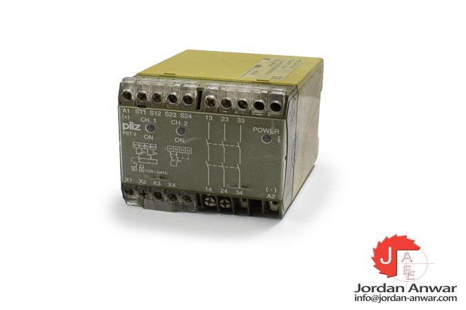pilz-PST3-24VDC-3S-safety-gate-monitor