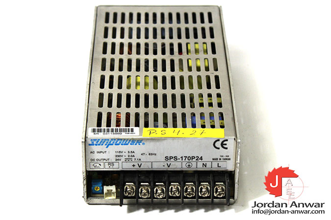 sunpower-SPS-170P24-power-supply