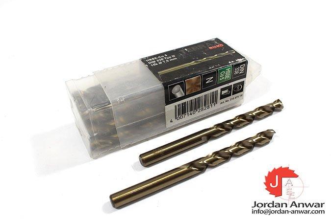 twist-drill-din-338-type-n-hsse-co-5-7.50-mm-x-109.00-mm