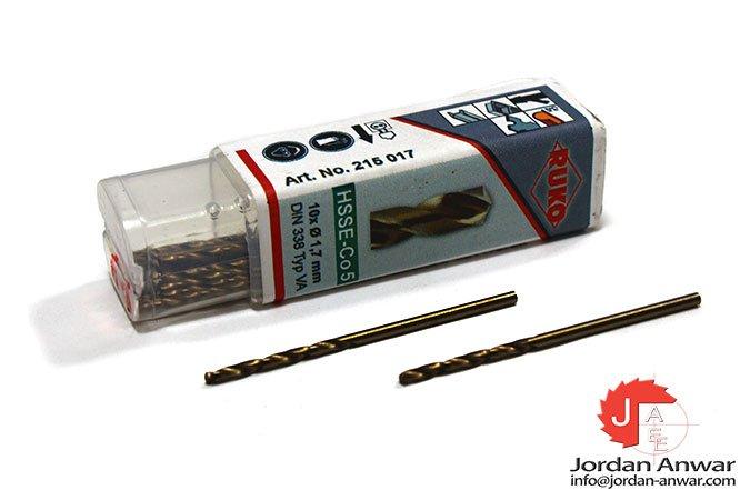 twist-drill-din-338-type-va-hsse-co-5-1.70-mm-x-43.00 mm