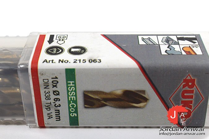 Hss-co5 Twist Drills DIN 338 Type VA Stainless Steel Drill 3,2 or 4,2 MM