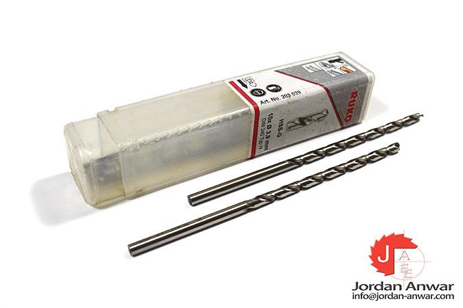 twist-drill-din-340-type-n-hss-g-3.90-mm-x-119.00 mm