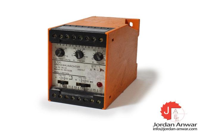 ifm-DZ-36-AC-speed-controller
