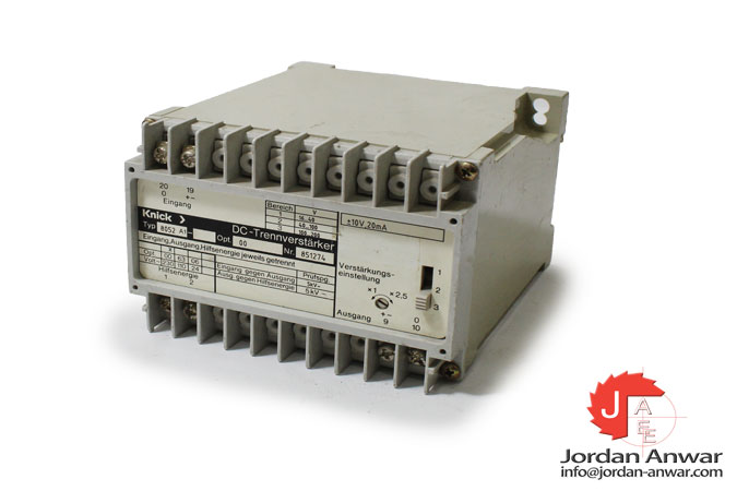 knick-8052-A1-dc-isolating-amplifier