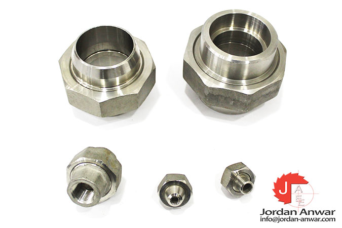 stainless steel weld union