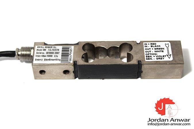 ascell-sensor-BM-max-50-kg-single-point-load-cell