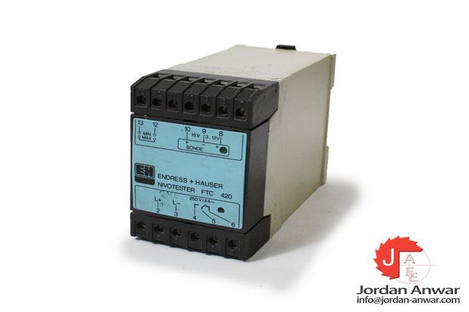 endress+hauser-FTC-420-220-VAC-capacitance-limit-detection-nivotester