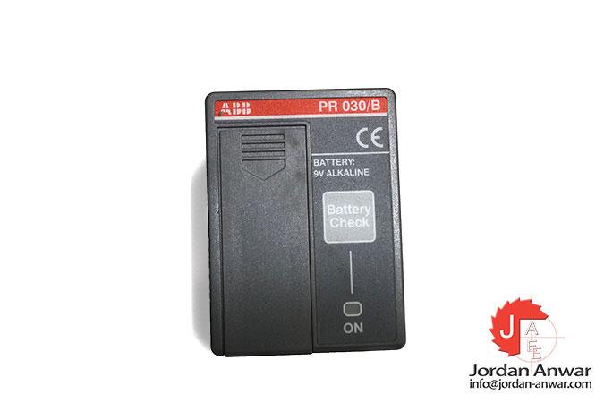 ABB 1SDA058258R1 Battery Unit PR030//B 9V