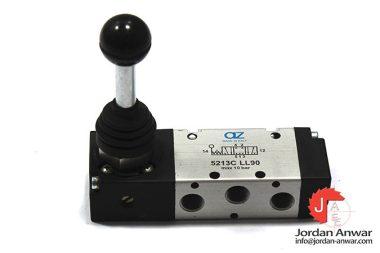 az-pneumatica-5213C-LL90-hand-lever-valve