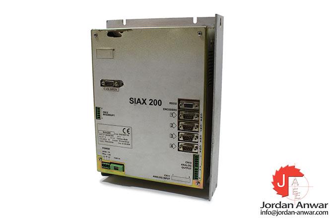 sipro-SIAX-200-operator-panel