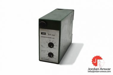 aeg-ER-100-earth-locking-relay