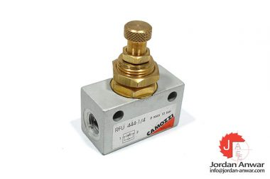 camozzi-RFU-444-1_4-one-way-flow-control-valve