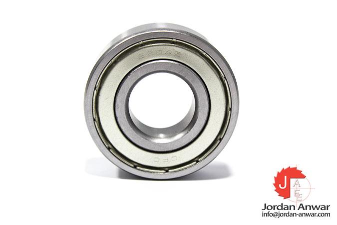 20mm OD 47mm Width 14mm 6204-2Z Radial Ball Bearing Double Shielded Bore Dia