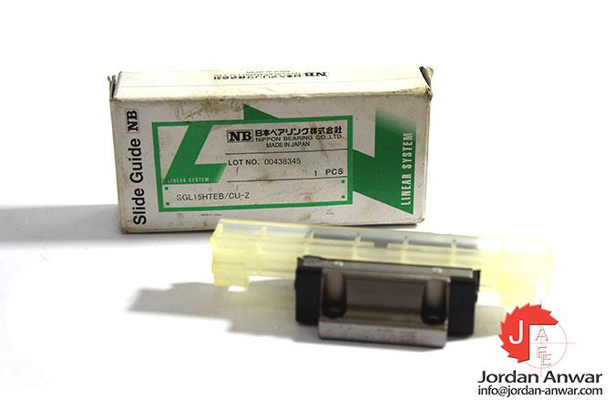 nippon-SGL-15HTEB-slide-guide-bearing