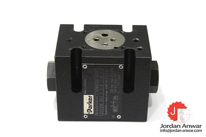 parker-D31DW-001-C-4-N-J-W-91-pilot-operated-directional-control-valve