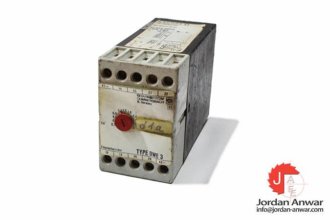 square-d-starkstrom-DWE_-W_-P-on-impulse-relay