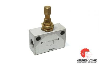 8850-1_4-one-way-flow-control-valve