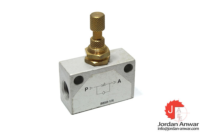 8850-1_4-one-way-flow-control-valve