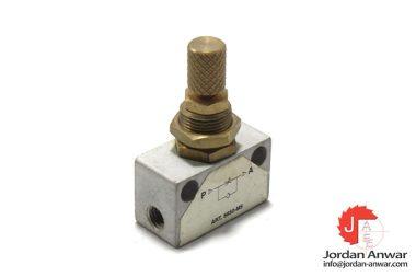 8850-M5-one-way-flow-control-valve