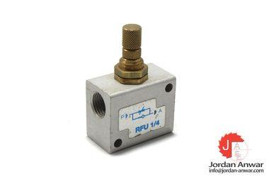 RFU-1_4-one-way-flow-control-valve