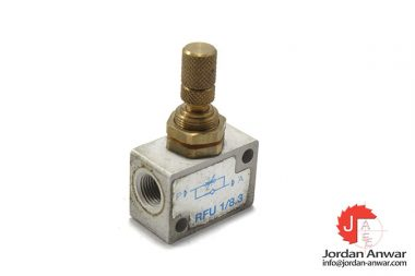 RFU-1_8.3-one-way-flow-control-valve
