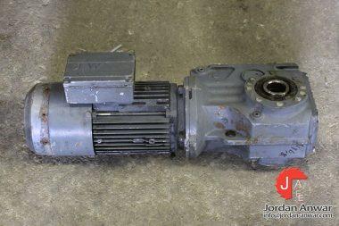 sew-KA47-CT80N4_BMG_TF_ES1S-motor-gearbox-combo-rebuilt