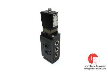 burkert-6519-W-6,0-FLNSCH-PN2-8BAR-24V-DC-2W-single-solenoid-valve
