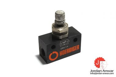Hoerbiger-DRV-1_4-one-way-flow-control-valve