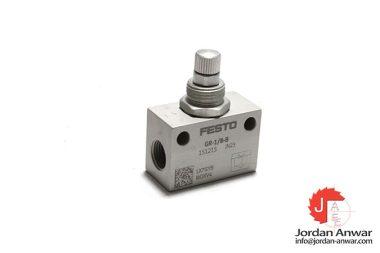 Festo-151215-one-way-flow-control-valve